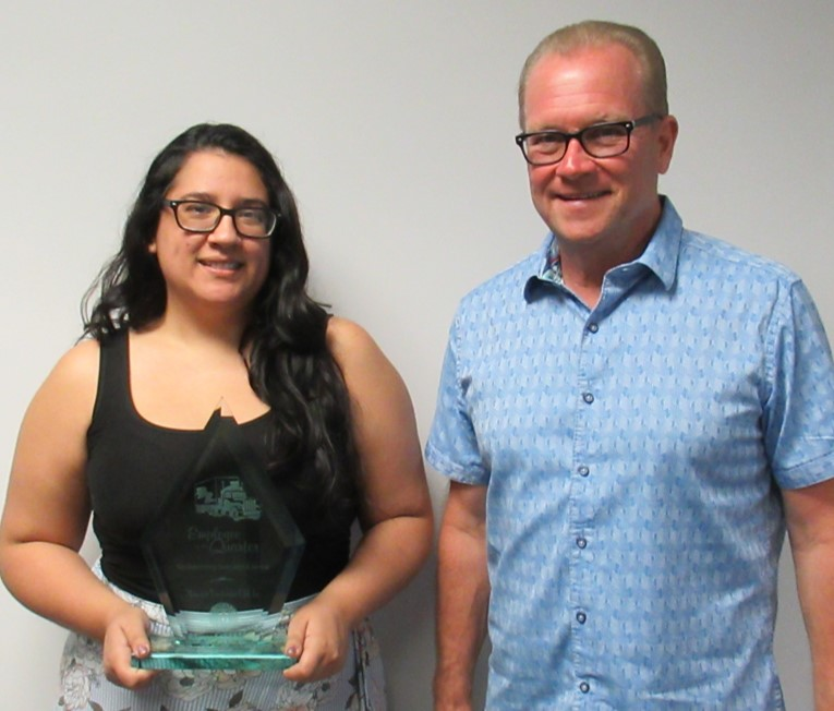 Congratulations to Ginnie Diaz, our Q1 2020 Employee of the Quarter!