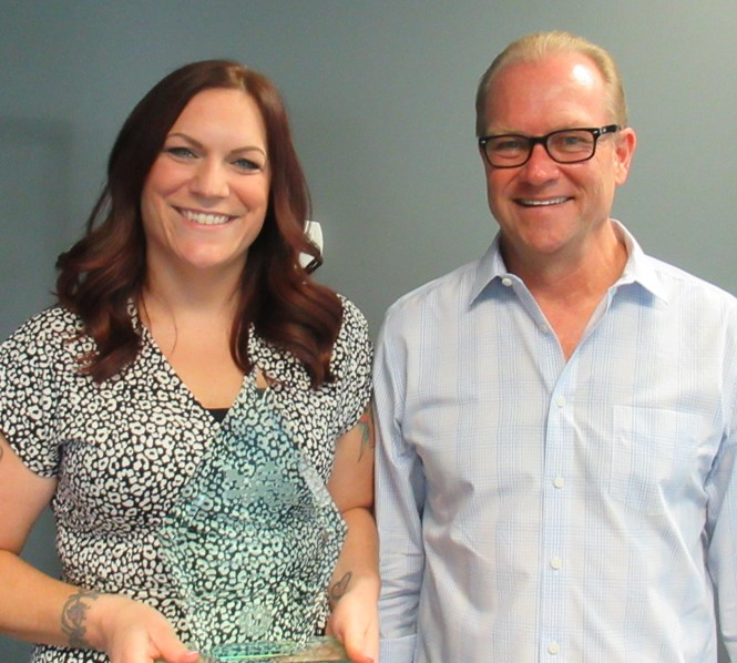 Congratulations to Lizzy Hutchinson, our Q2 2020 Employee of the Quarter!