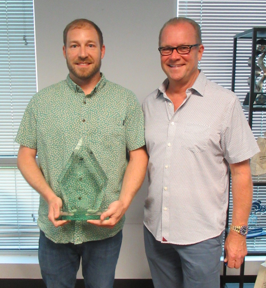 Congratulations to Charles Moran, our Q2 2021 Employee of the Quarter!